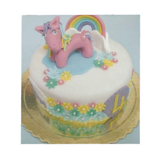 Pony cake 1 notepad