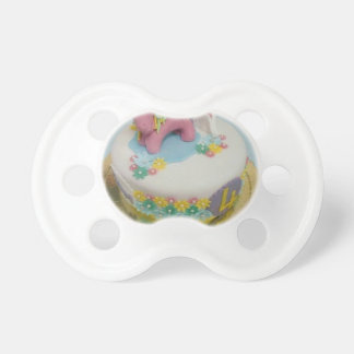 Pony cake 1 pacifier
