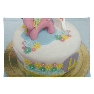 Pony cake 1 placemat