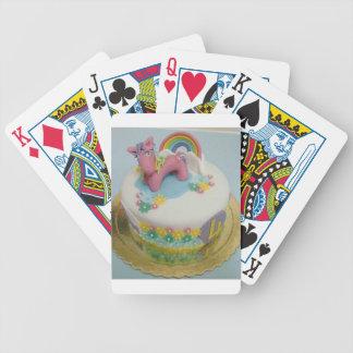 Pony cake 1 poker deck