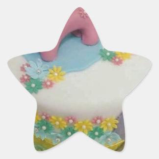 Pony cake 1 star sticker