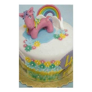 Pony cake 1 stationery