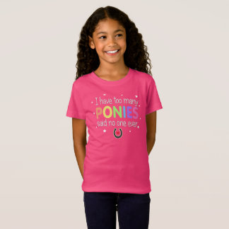 Pony Collector Kids T-Shirt