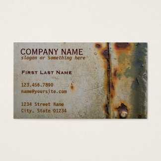 Pony Express Business Card