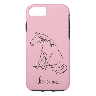 Pony Lines - This is Nice. iPhone 8/7 Case