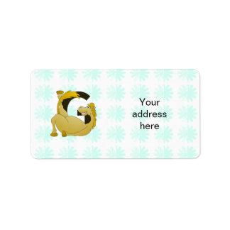 Pony Monogram Letter G Personalized