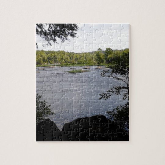 Pony Pasture Rapids Jigsaw Puzzle