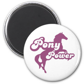 pony power 2 inch round magnet