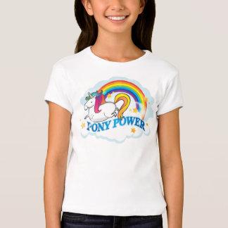 Pony Power Unicorn Tee Shirt