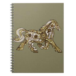 Pony Spiral Notebook