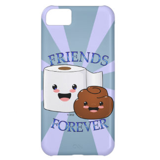 Poo and Toilet Paper BFFS Cover For iPhone 5C