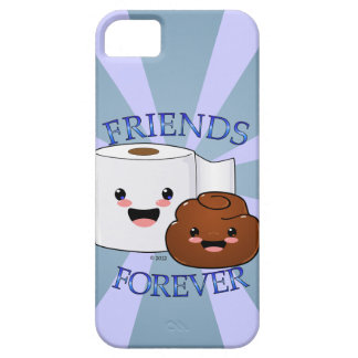 Poo and Toilet Paper BFFS iPhone 5 Cover