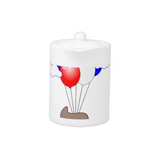 Poo Emoji Flying With Balloons