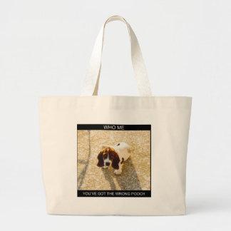 Pooch Canvas Bags