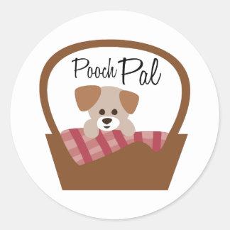 Pooch Pal Round Sticker