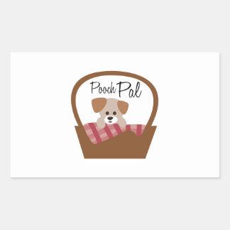 Pooch Pal Rectangular Stickers