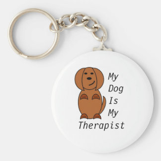 Pooch Therapy Keyring