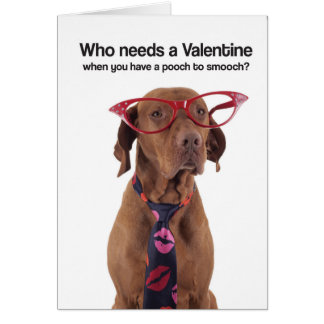 Pooch to Smooch (Vizsla) Greeting Card