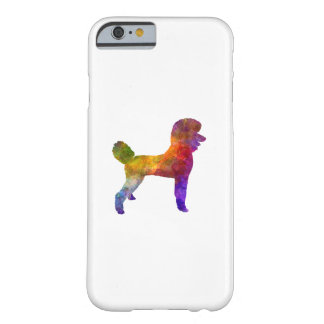 Poodle 01 in watercolor barely there iPhone 6 case