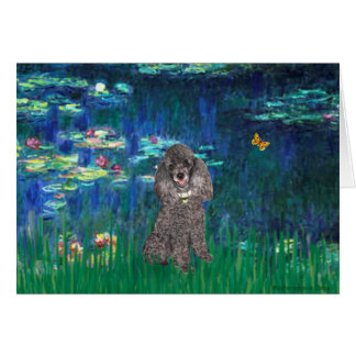 Poodle (8S) - Lilies 5 Card