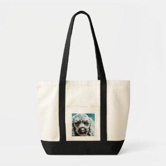 Poodle Canvas Bags