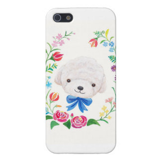 Poodle Bichon Frise White Puppy Dog Phone Case iPhone 5 Covers