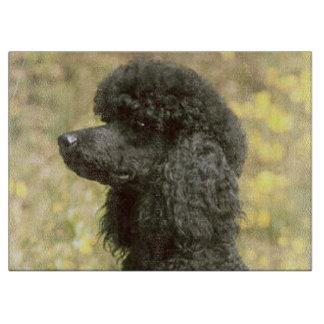 poodle black cutting board