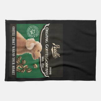 Poodle Brand – Organic Coffee Company Kitchen Towel