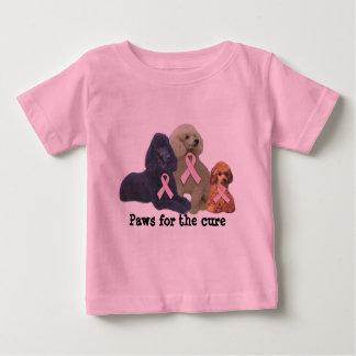 Poodle  Breast Cancer Toddler Unisex Shirt