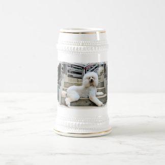 Poodle - Brulee - Trainer Beer Stein