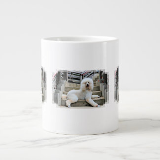 Poodle - Brulee - Trainer Large Coffee Mug