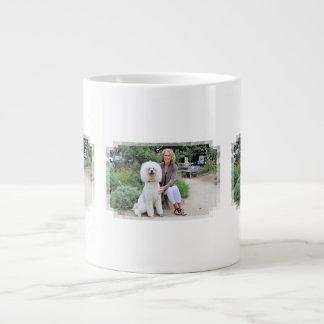 Poodle - Brulee - Trainer Large Coffee Mug