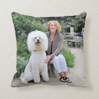 Poodle - Brulee - Trainer Throw Pillow