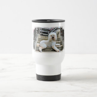Poodle - Brulee - Trainer Travel Mug