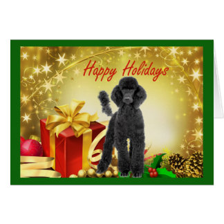 Poodle  Christmas Card Gifts