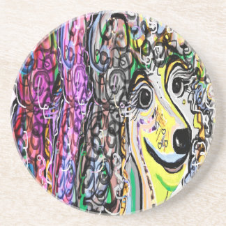 Poodle Color Transition Coaster