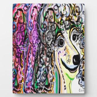 Poodle Color Transition Plaque