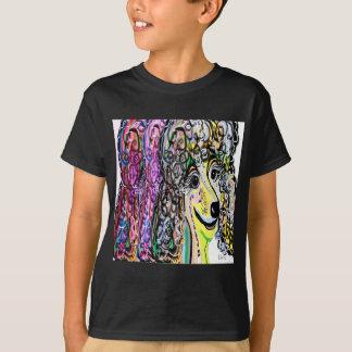 Poodle Color Transition T-Shirt