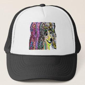 Poodle Color Transition Trucker Hat