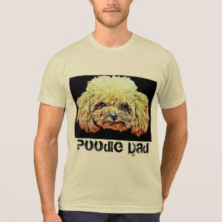 Poodle Dad Dog T-shirt