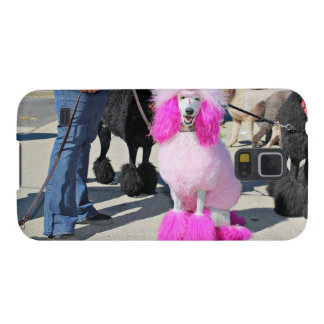 Poodle Day 2016 - Barnes - Pink Standard Poodle Galaxy S5 Cases