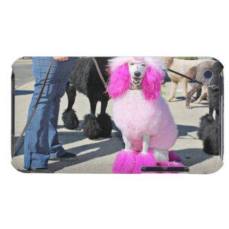 Poodle Day 2016 - Barnes - Pink Standard Poodle iPod Case-Mate Case
