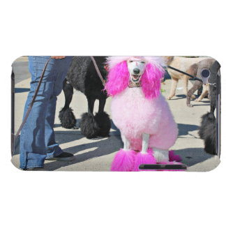 Poodle Day 2016 - Barnes - Pink Standard Poodle iPod Touch Case