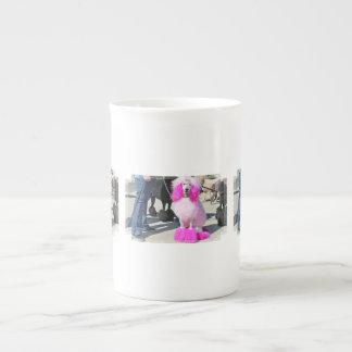 Poodle Day 2016 - Barnes - Pink Standard Poodle Tea Cup
