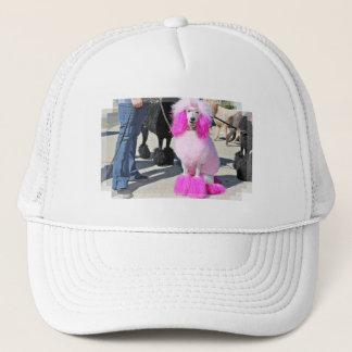 Poodle Day 2016 - Barnes - Pink Standard Poodle Trucker Hat