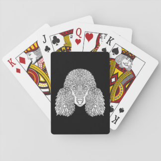 Poodle - Detailed Dogs Playing Cards