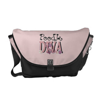 Poodle DIVA Courier Bags