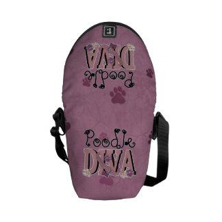 Poodle DIVA Messenger Bag
