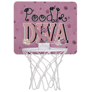 Poodle DIVA Mini Basketball Hoop