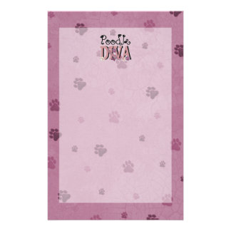 Poodle DIVA Stationery Design